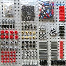 Lego Technic 400+ NEW parts- pins, gears, joints, axles, connectors, bushes NEW