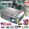 FULL HD 1080P 3D 7000 Lumens LED TV Video Projector Multimedia Home Theater HDMI