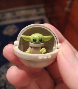 "New Baby Yoda & Cot Star Wars The Mandalorian ""The Child"" Lego Minifigure"