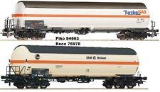 ROCO 76976 + Piko 54663 2 Chaudière gaz de voiture échange d'essieu sur demande