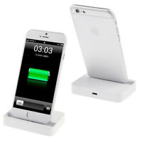 Charge & Synchronise Dock Station Docking for Apple iPhone 5 6 7 WHITE