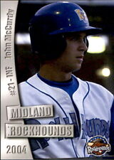 2004 Midland Rockhounds Grandstand #17 John McCurdy Pittsburgh Pennsylvania Card