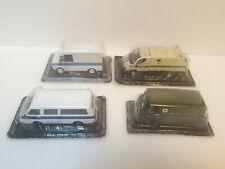 1/43 Set of 4 USSR vans ErAZ-3730, UAZ-450A, RAF-22038, GAZ-3302 Ratnik