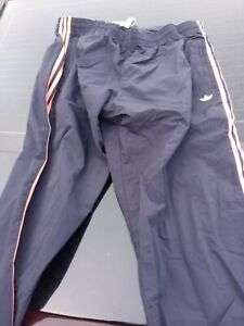 New Men's Adidas Orginals Trefoil Wind Track Pants-fm1533 Navy/Coral, 2xl