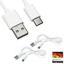 2x USB 3.1 Typ C Ladekabel USB-C Datenkabel Sync Daten Lade Kabel für Samsung