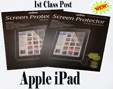 Two Pack LCD Screen Protector Guard for Apple iPad -UK