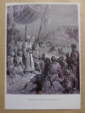 #) 20) HISTOIRE DES CROISADES - tournois entre chevaliers ... Gustave Doré
