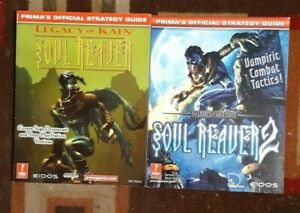 Soul Reaver 1 & 2 Legacy Of Kain Prima's Official Strategy Game Guide Lot