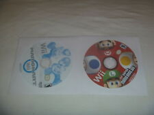 Mario Kart Wii (2008) & New Bros 2009 Nintendo Game Disc Only No Case Or Manual