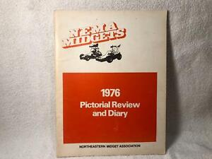 Northeastern Midget Association NEMA 1976 Annual Record and Pictorial Review