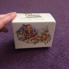 Vintage Money Box Santa Christmas Retro Xmas Gift