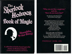 The Sherlock Holmes Book of Magic-Jeff Brown-2000-Holmes theme magic effects-Sp