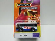Vintage MATCHBOX EURO EDITION CITY BUS