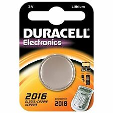 DURACELL 2016, 3v LITIO dl2016/cr2016/kcr2016/ecr2016 BATTERIA