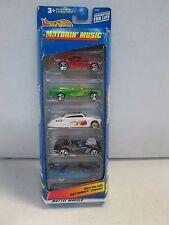 Hot Wheels 5 Car Gift Pack Motor Music w Camaro