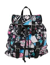 Disney Alice In Wonderland Backpack School Book Bag Tossed Character Slouch