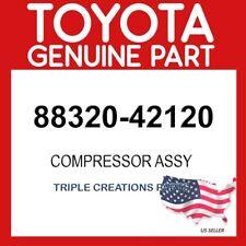TOYOTA GENUINE 8832042120 COMPRESSOR ASSY, COOLER 88320-42120