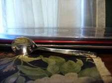 HTF United Airlines or Airways Silver Plated Spoon By International Silver Co NR