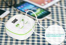 Portable 4 Ports Multiple USB Charger Smart Charging For iPhone8 7 6s Samsung LG