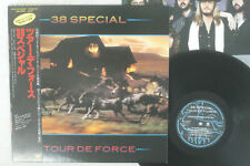 38 SPECIAL TOUR DE FORCE A&M AMP-28086 Japan OBI VINYL LP