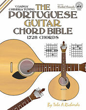 PORTUGUESE COIMBRA GUITAR CHORD BIBLE - 1,728 CHORDS (NEW 2016 EDITION)