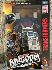 "Transformers War for Cybertron Kingdom Leader WFC-K20 Ultra Magnus (9"") Sealed"