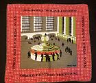 TAMMIS KEEFE GRAND CENTRAL, NEW YORK, HANKY, RED & GREEN