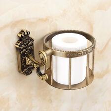 Wall Mounted Antique Alloy Zinc Toilet Paper Roll Tissue Holder Bathroom Shelf