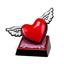 "BURTON MORRIS - POP ART aus USA - Skulptur - ""Wings of Love"" - stylische Figur"