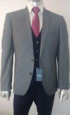 Men's 3 pcs Suit Checked Gatsby Peaky Blinders Wedding Suit  Contrast Waistcoat