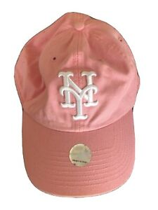Twins Enterprise Women's Baseball Hat Pink New York Yankees MLB ONE SIZE New