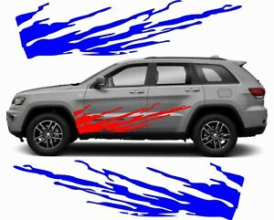 OFF-ROAD DECAL for Jeep Grand Cherokee ZJ WJ WK WK2  XJ  KJ KK KL SUV 4WD SRT