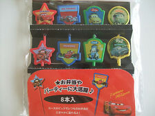 Disney Cars Food Picks Japanese Bento Accessories/8pcs