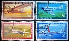 B0 171  BERLIN 1979 Michel 592 - 595 Jugend Luftfahrt Sonderstempel