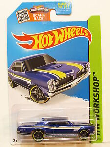 HOT WHEELS 2015 HW WORKSHOP - MUSCLE MANIA '67 PONTIAC GTO