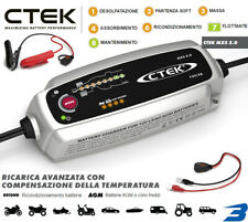 CARICA BATTERIA AGM START-STOP AUTO MOTO FURGONI 12V 5Ah CTEK C TEK MXS 5.0