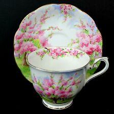 Vintage Royal Albert Blossom Time Bone China Tea Cup and Saucer #799933 England