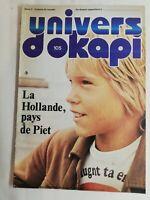 N37 Rivista Universo Okapi N° 105 La Olanda, Paesi Delle Piet