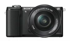 Sony Alpha A5000 Black Mirrorless Digital Camera with 16-50mm Lens Kit