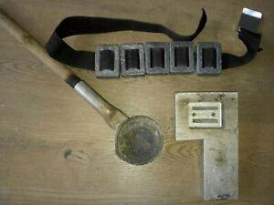 Gießform für Taucherblei, Bleigewicht für Bleigürtel, Tauchsport
