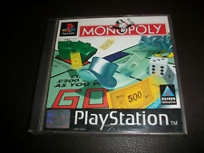 Playstation 1 PS1 Game Monopoly Free P+P
