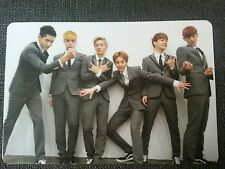 EXO M GROUP Official Photo Card 1st Repackage Ver.A Growl Korea Ver Photocard 엑소