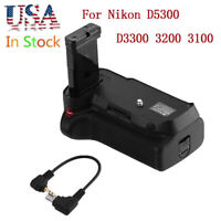 Battery Grip for Nikon D5300 D3300 D3200 D3100 Camera EN-EL14 Holder