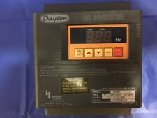 DAYTON AC INVERTER 1XC94, IN: 200~230V 60/50Hz, OUT: 1/2HP 3.0A MAX (3X8592R009)