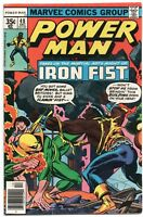 Power Man 48 Marvel 1977 VG FN 1st Luke Cage Iron Fist Team-Up