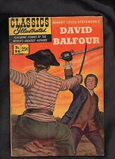 Classics Illustrated #94 Vg+ Hrn166 David Balfour (*Robert Louis Stevenson)