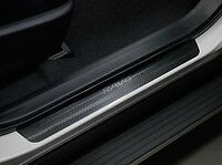 2013-2018 RAV4 DOOR SILL PROTECTOR APPLIQUE TOYOTA GENUINE OEM 4PC SET NEW