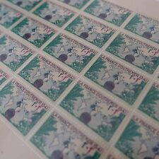 FEUILLE SHEET TIMBRE LA FRANCE D'OUTRE MER N°503 x25 1941 NEUF ** LUXE MNH
