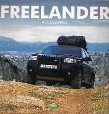 Land Rover Freelander Accessories 2001-02 UK Market Sales Brochure