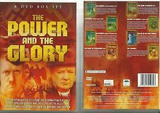 THE POWER AND THE GLORY - 8 DVD BOX SET - ROAD TO BERLIN, BLITZKRIEG & MORE